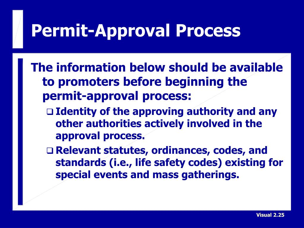 Permit-Approval Process