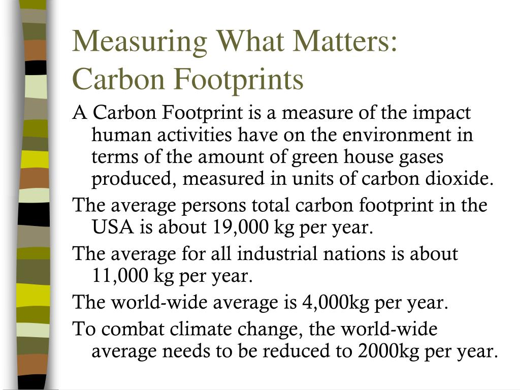 Measuring What Matters: