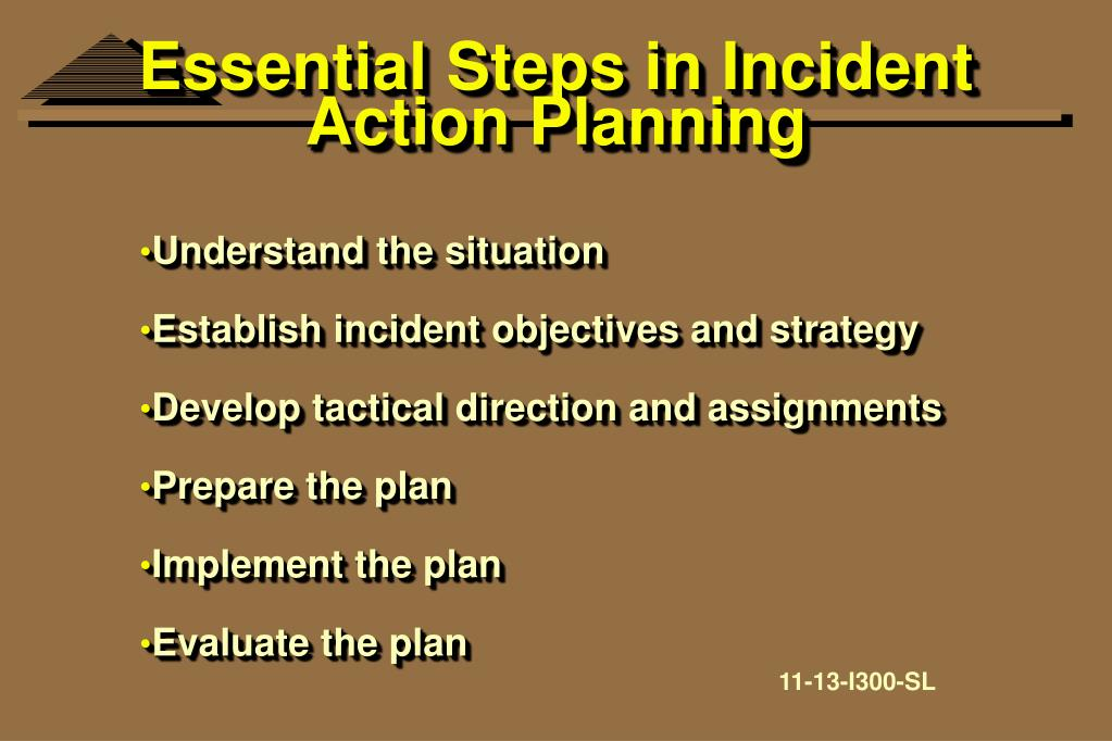 Essential Steps in Incident