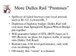 more dulles rail promises