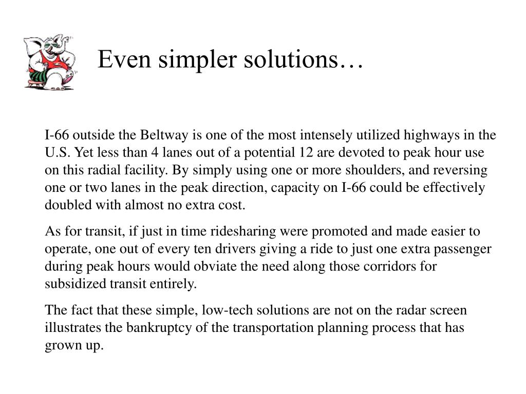 Even simpler solutions…