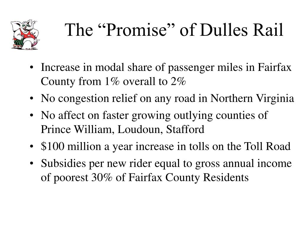 "The ""Promise"" of Dulles Rail"