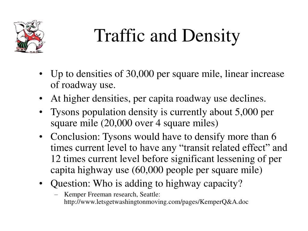 Traffic and Density