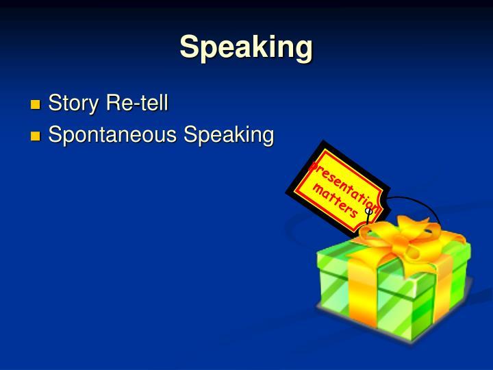 presentation matters