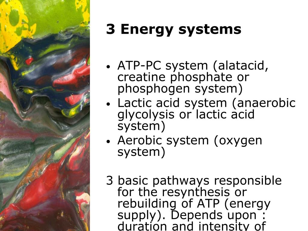 3 Energy systems