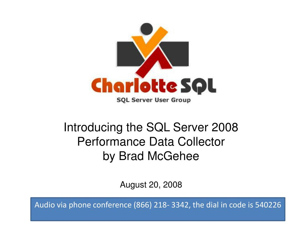 Introducing the SQL Server 2008 Performance Data Collector