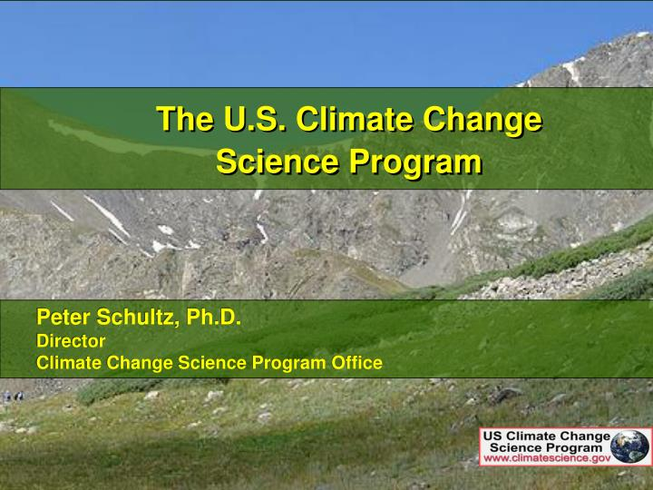 The U.S. Climate Change