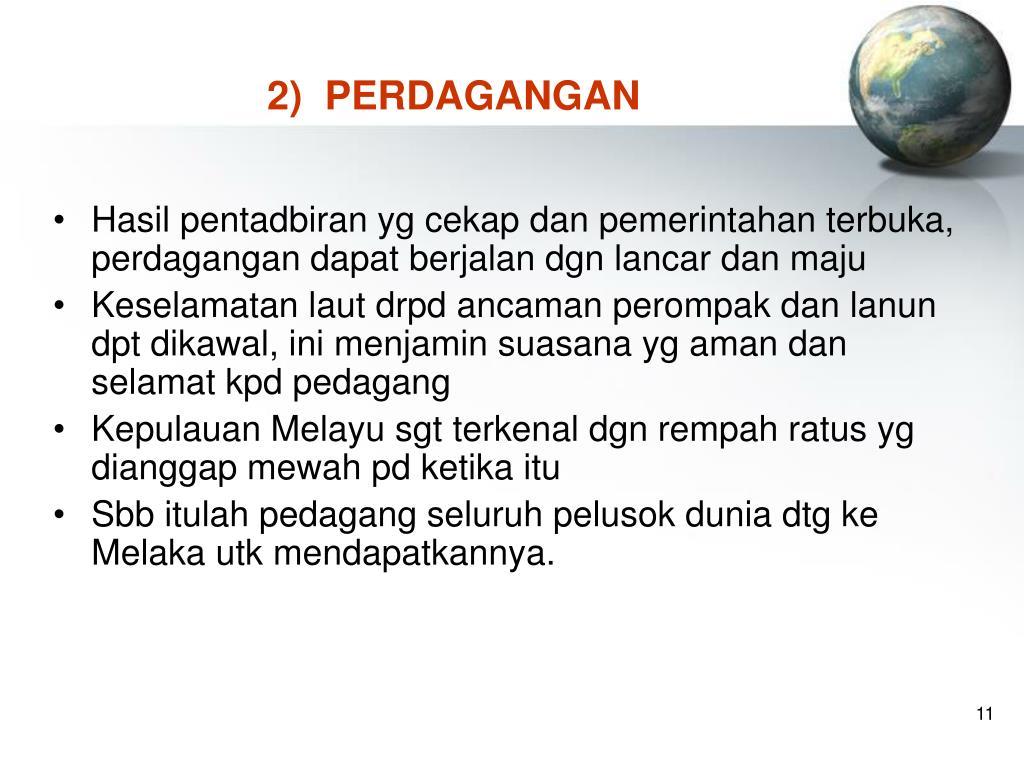 2)  PERDAGANGAN