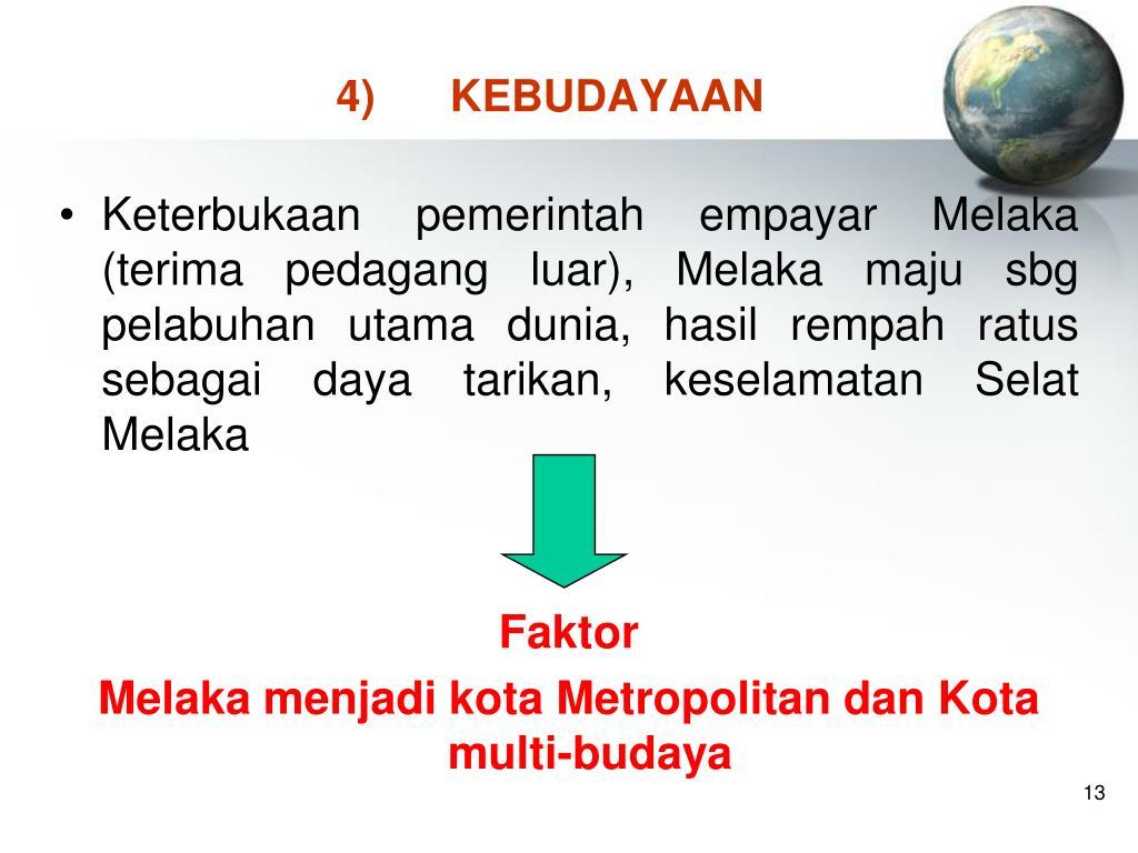4)KEBUDAYAAN