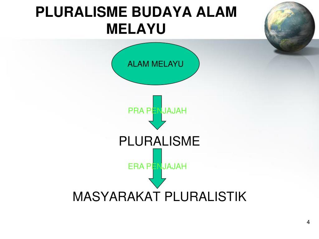 PLURALISME BUDAYA ALAM MELAYU
