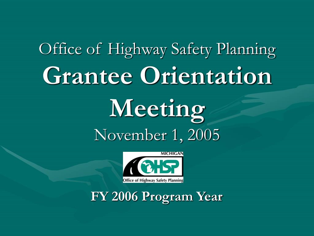 Office of Highway Safety Planning