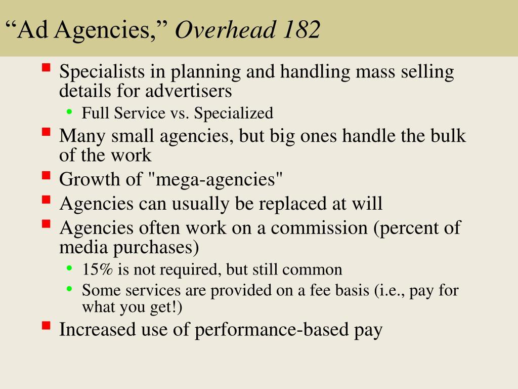 """""""Ad Agencies,"""""""