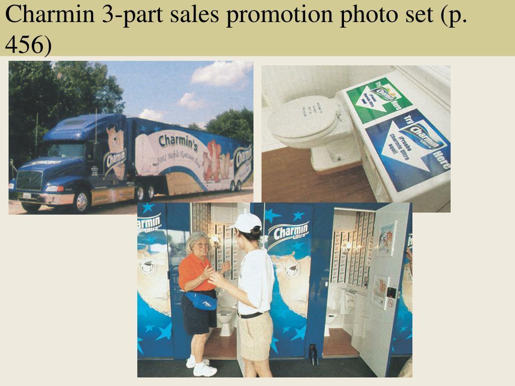Charmin 3-part sales promotion photo set (p. 456)