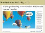 hoechst institutional ad p 437