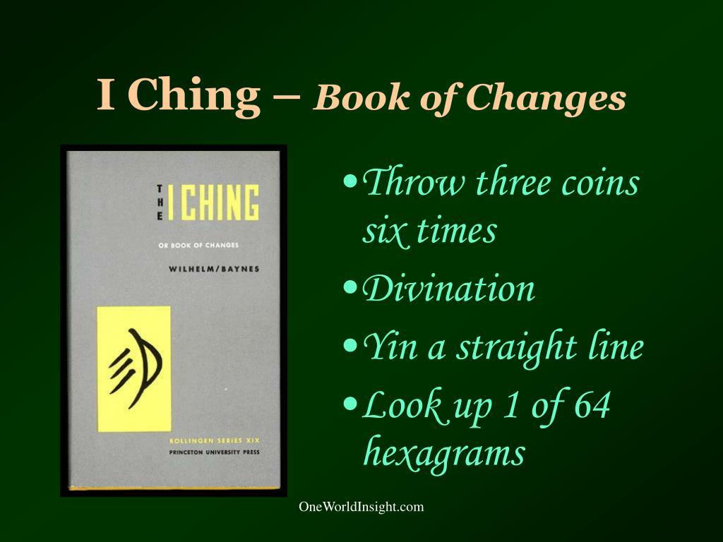 I Ching –