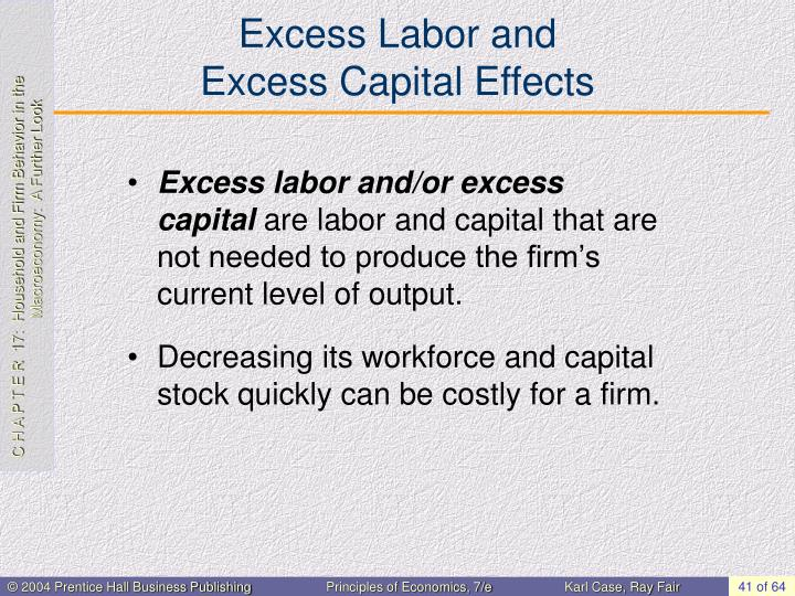 Excess Labor and