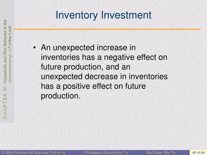 Inventory Investment