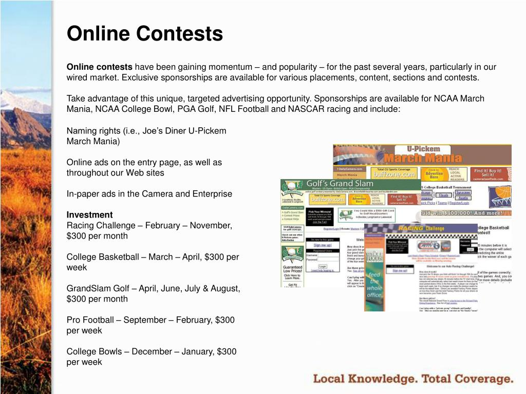 Online Contests