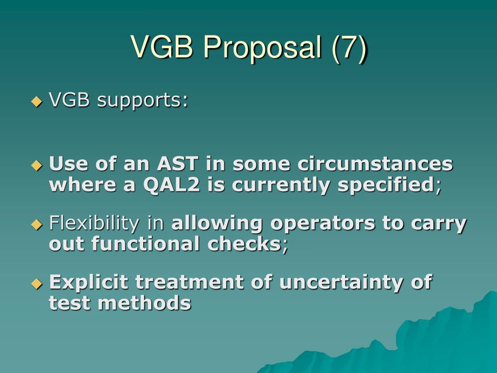 VGB Proposal (7)