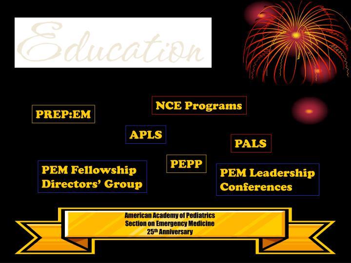 NCE Programs