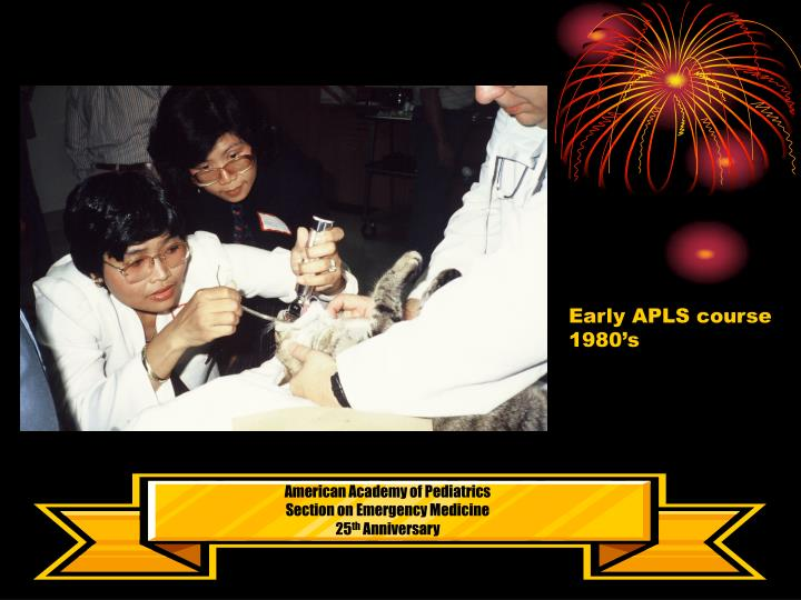 Early APLS course