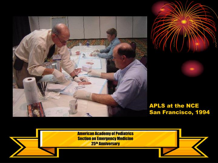APLS at the NCE
