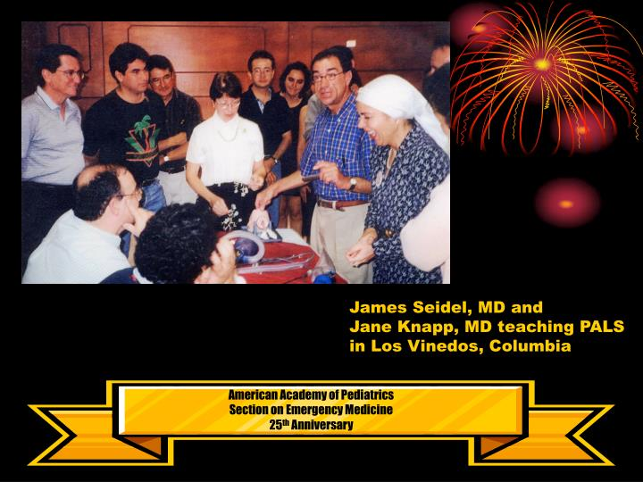 James Seidel, MD and