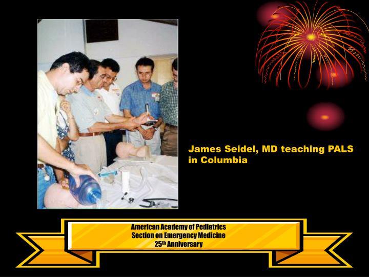 James Seidel, MD teaching PALS