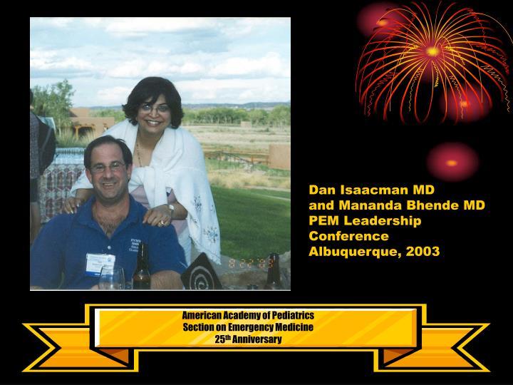 Dan Isaacman MD