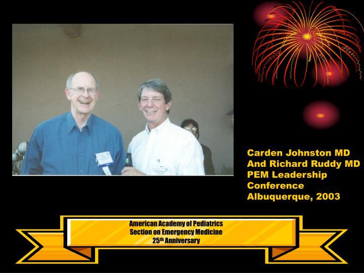 Carden Johnston MD