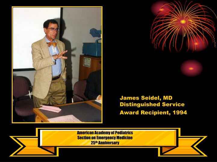 James Seidel, MD