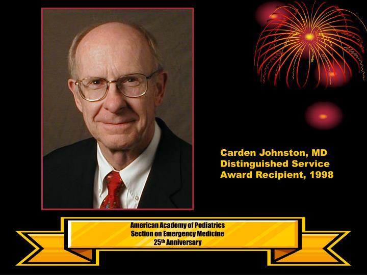 Carden Johnston, MD