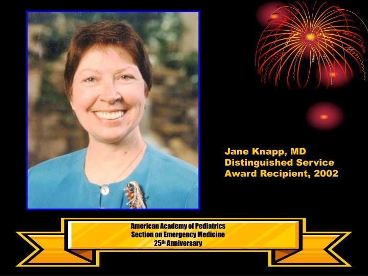 Jane Knapp, MD