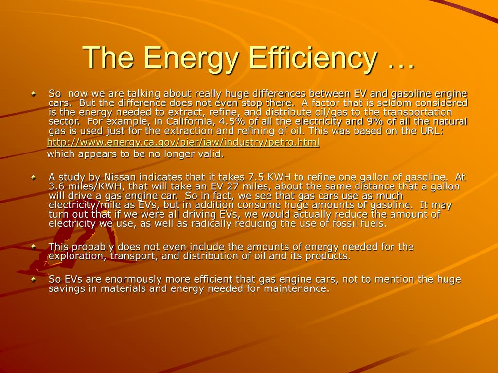 The Energy Efficiency …