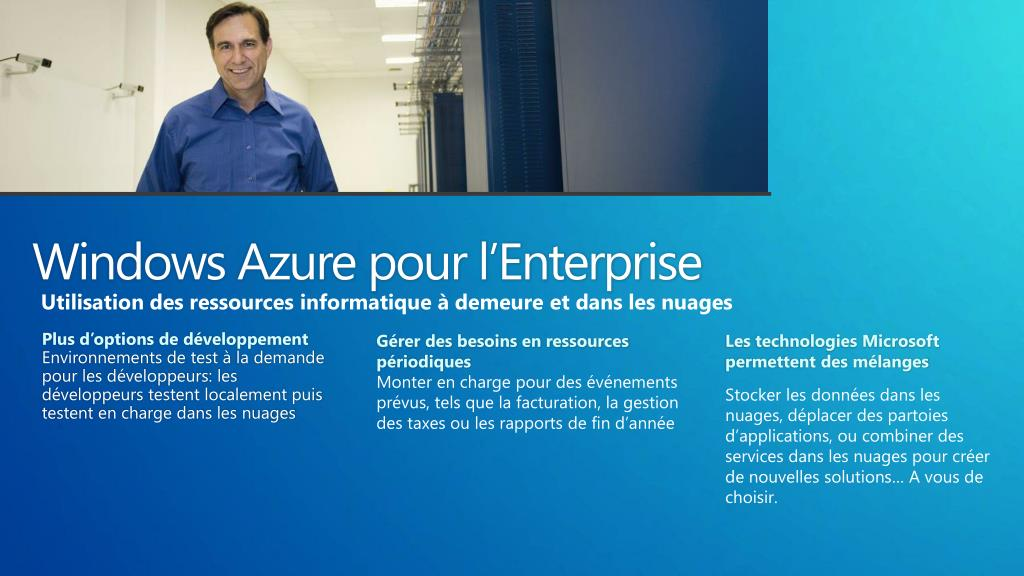 Windows Azure pour l'Enterprise