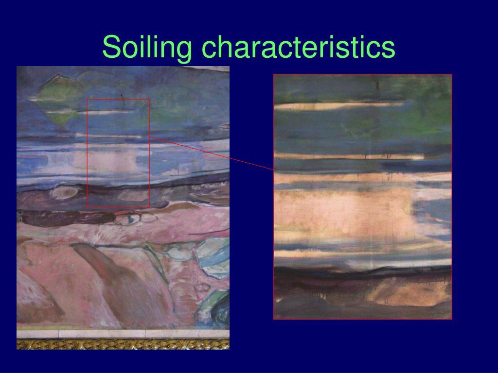 Soiling characteristics