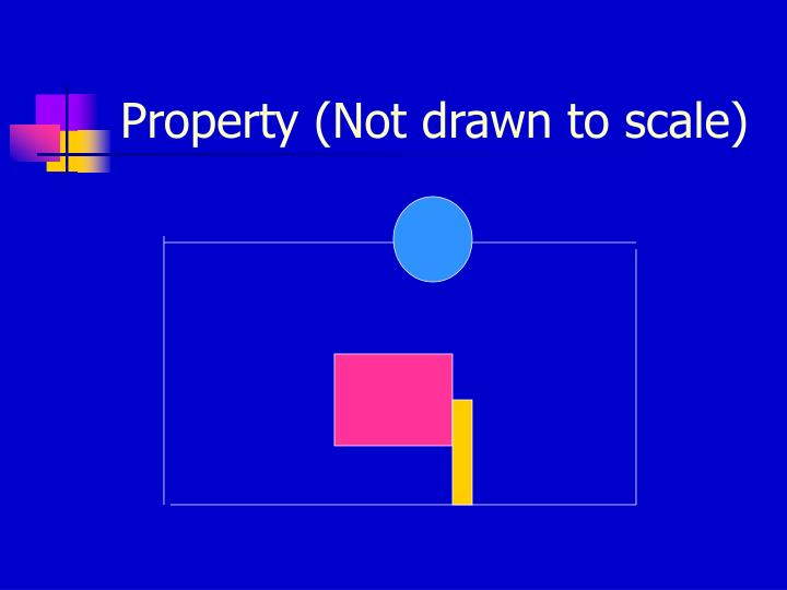 Property (Not drawn to scale)