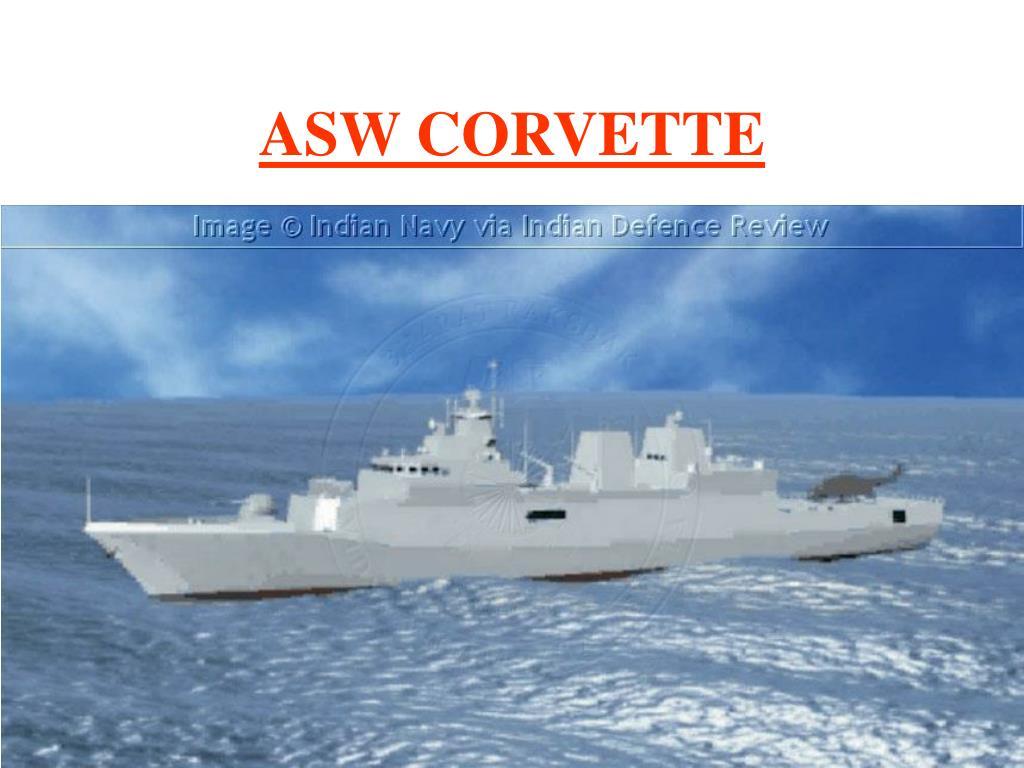 ASW CORVETTE