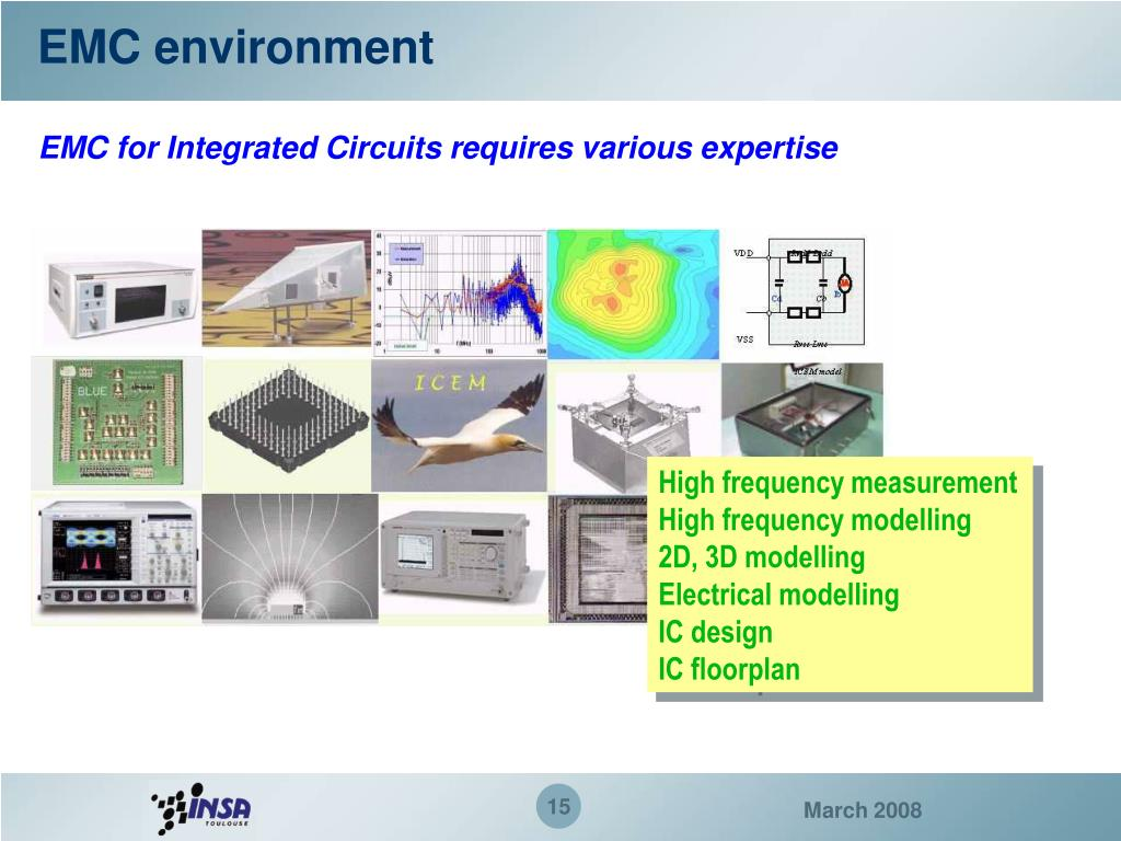 EMC environment