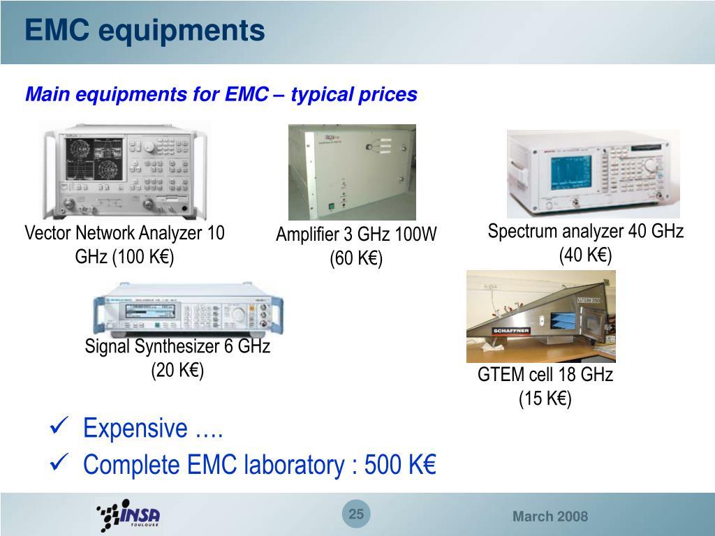 EMC equipments