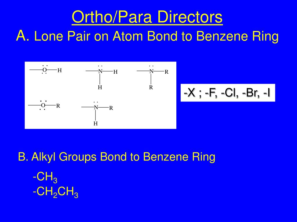 Ortho/Para Directors