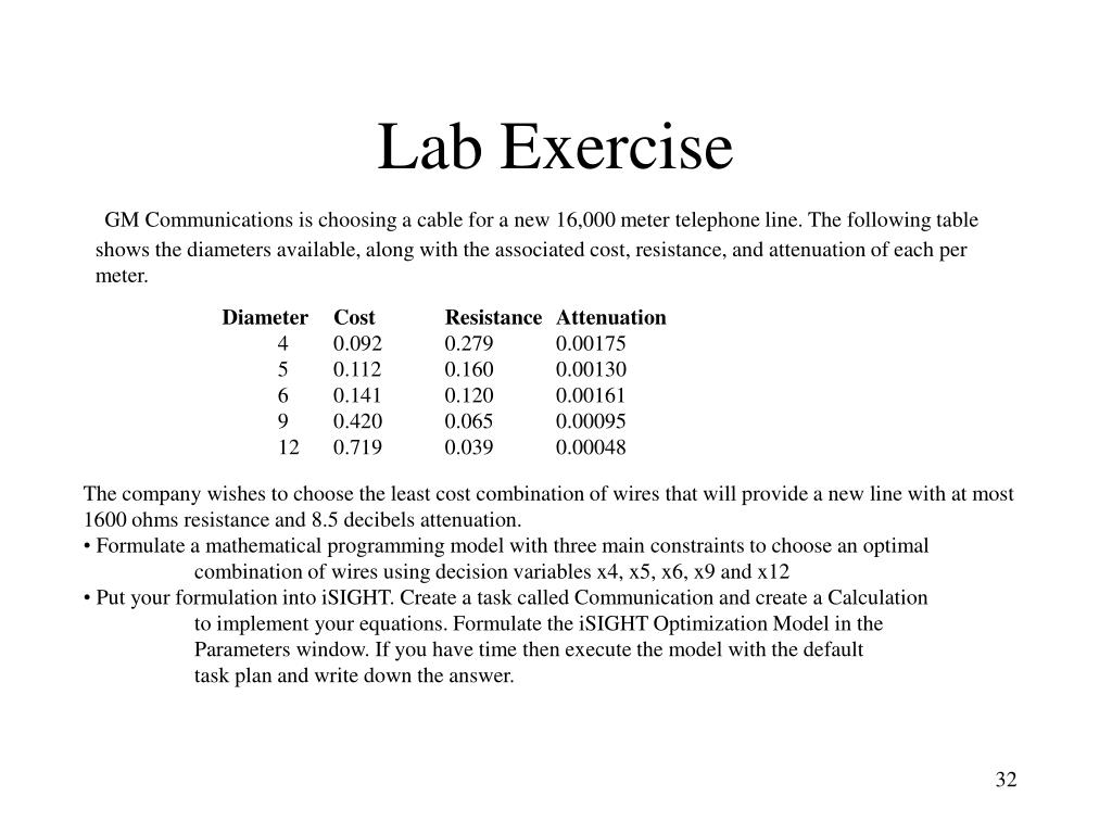 Lab Exercise