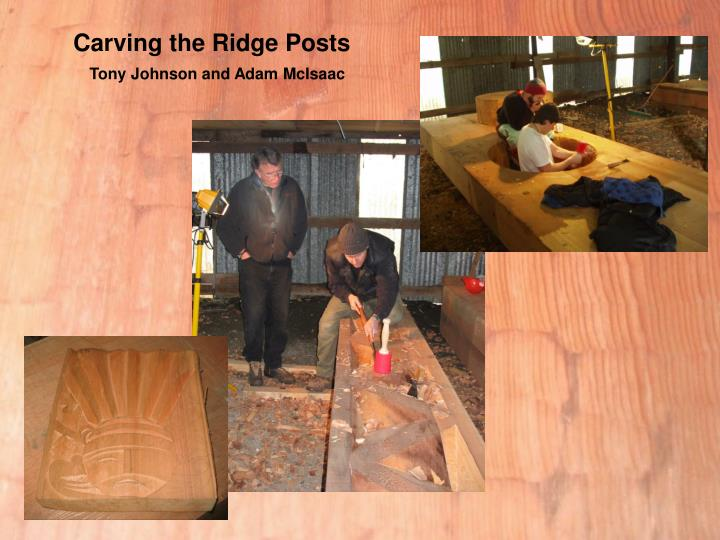 Carving the Ridge Posts