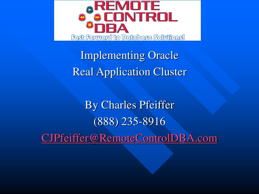 Implementing Oracle