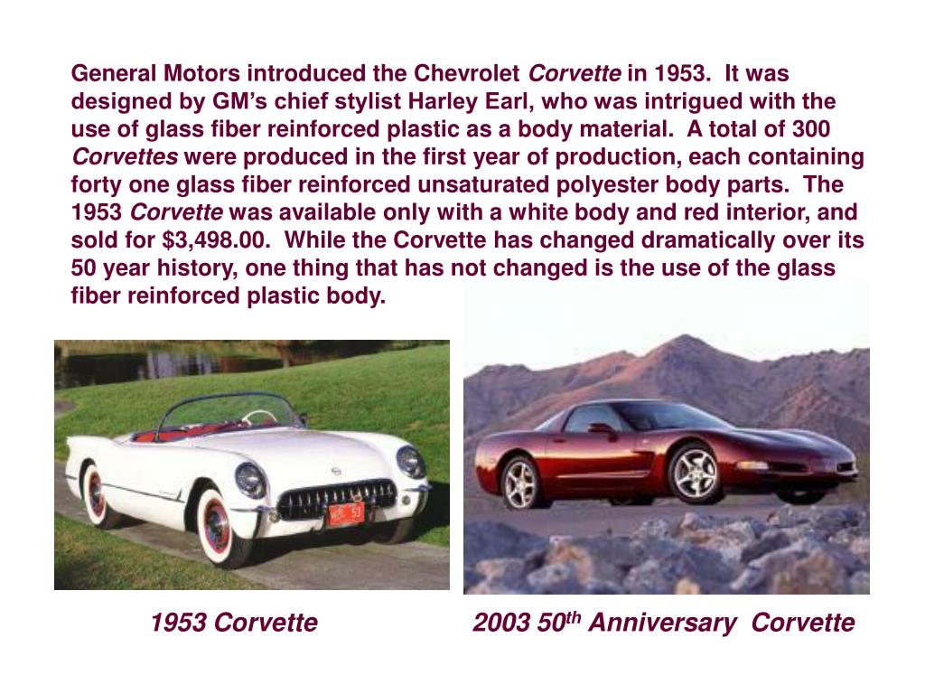 General Motors introduced the Chevrolet