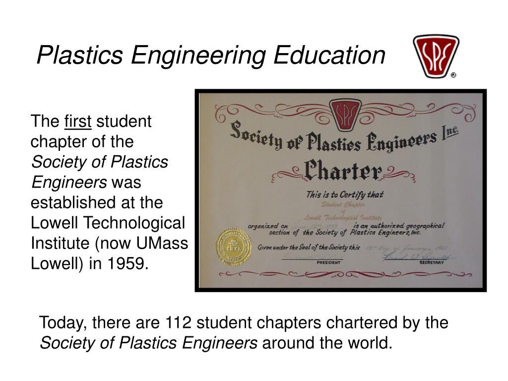 Plastics Engineering Education