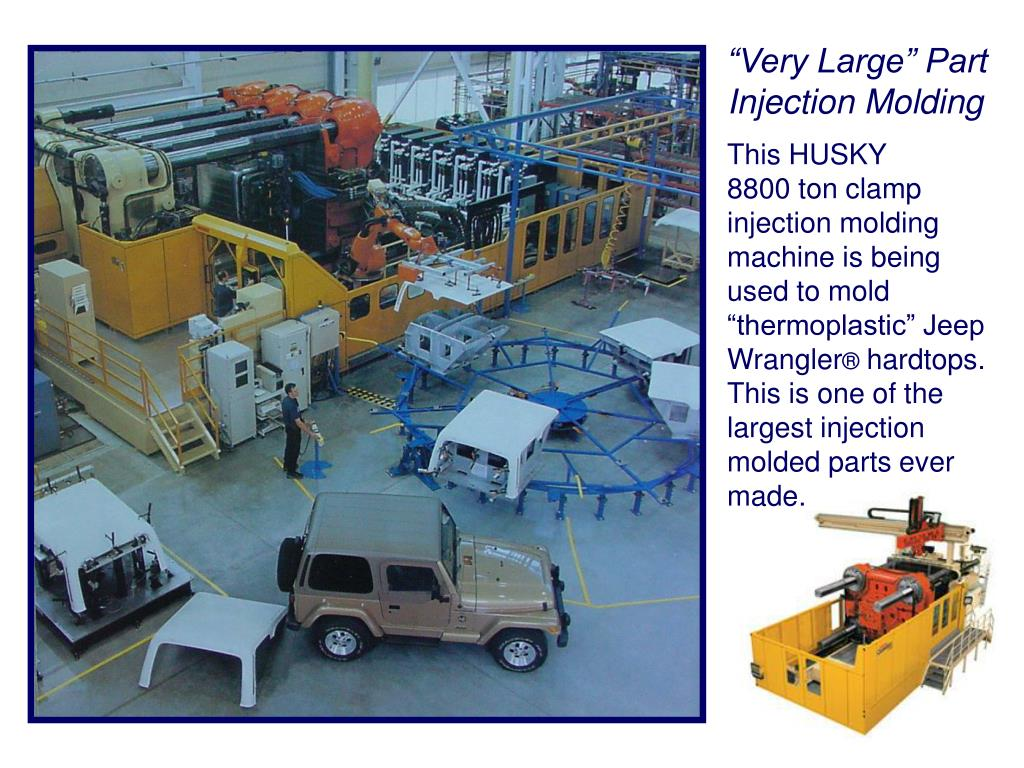 """Very Large"" Part Injection Molding"