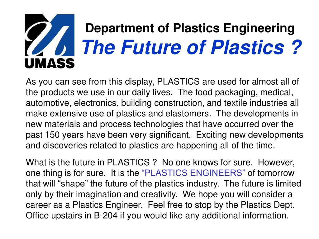 Department of Plastics Engineering