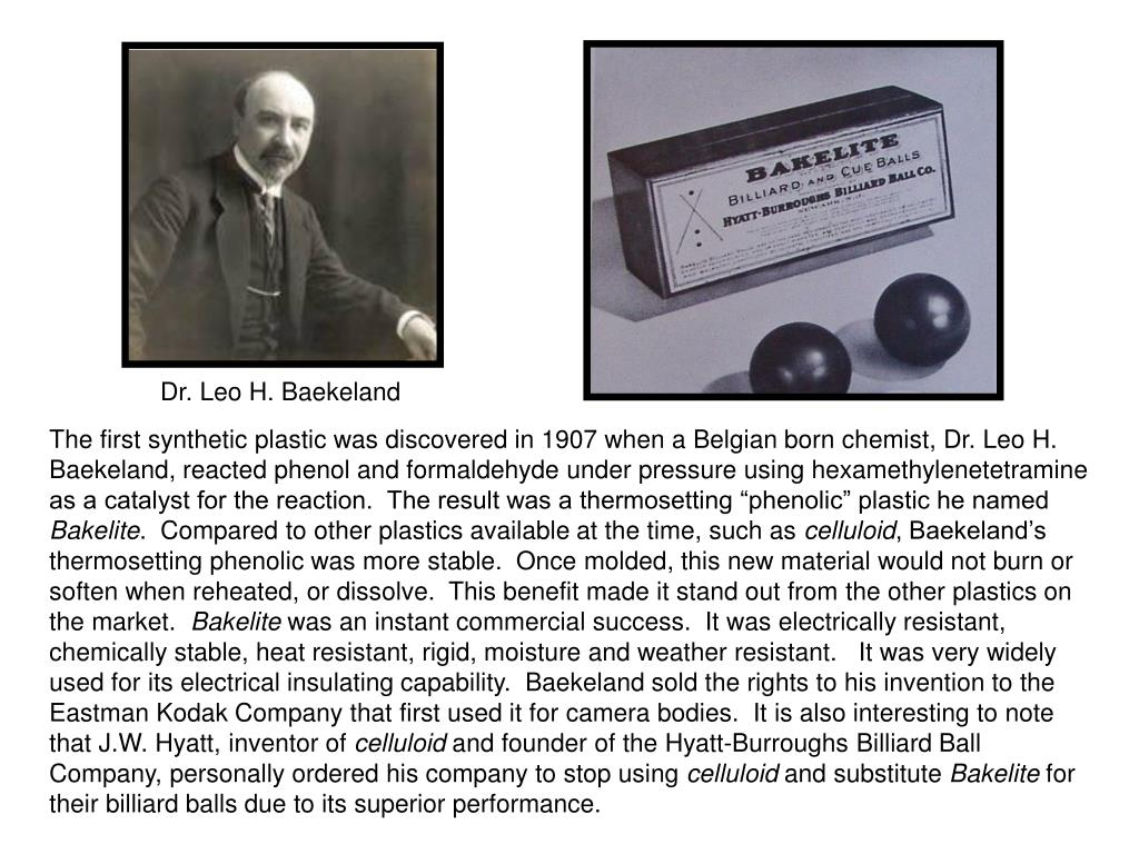 Dr. Leo H. Baekeland