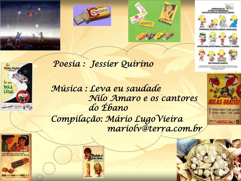 Poesia :  Jessier Quirino